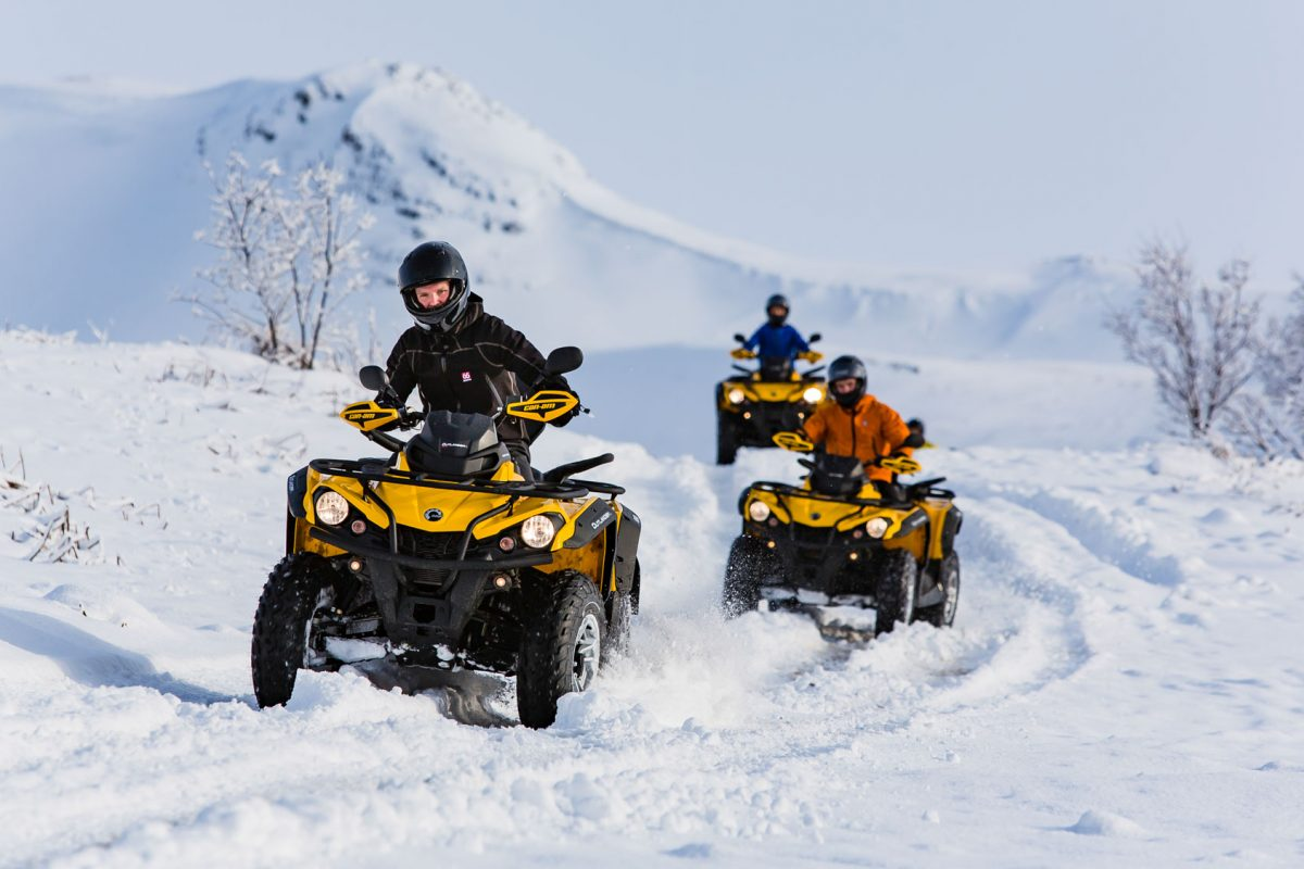 winter atv tour in Iceland