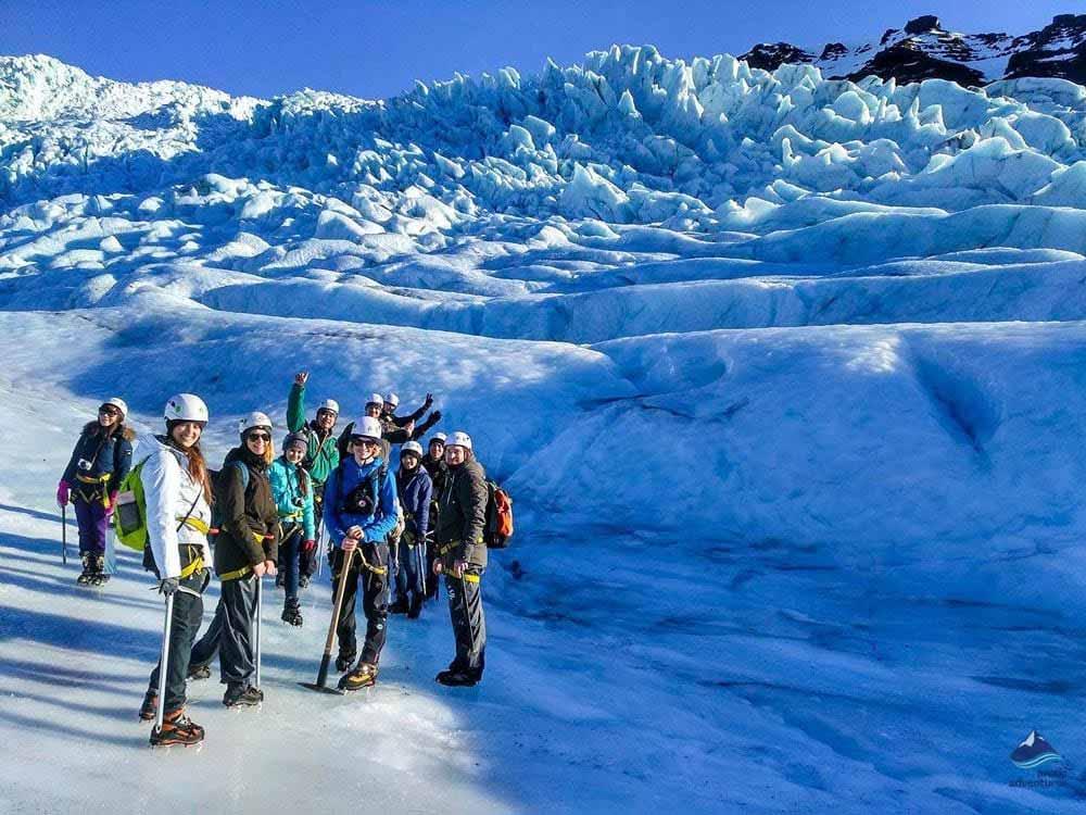 Glacier Hiking tour in Skaftafell