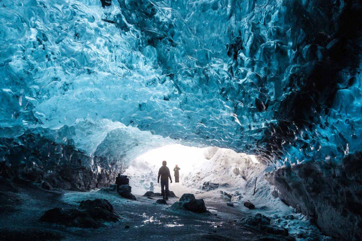 Crystal Ice Cave Skaftafell Iceland