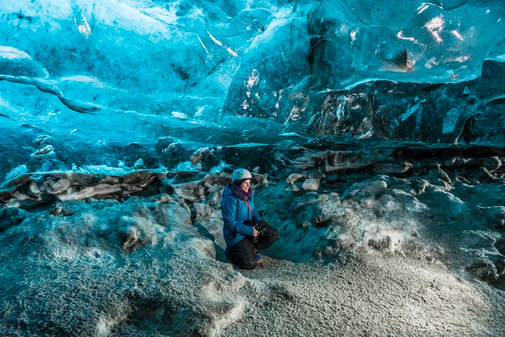 Crystal Ice Cave Tour Iceland