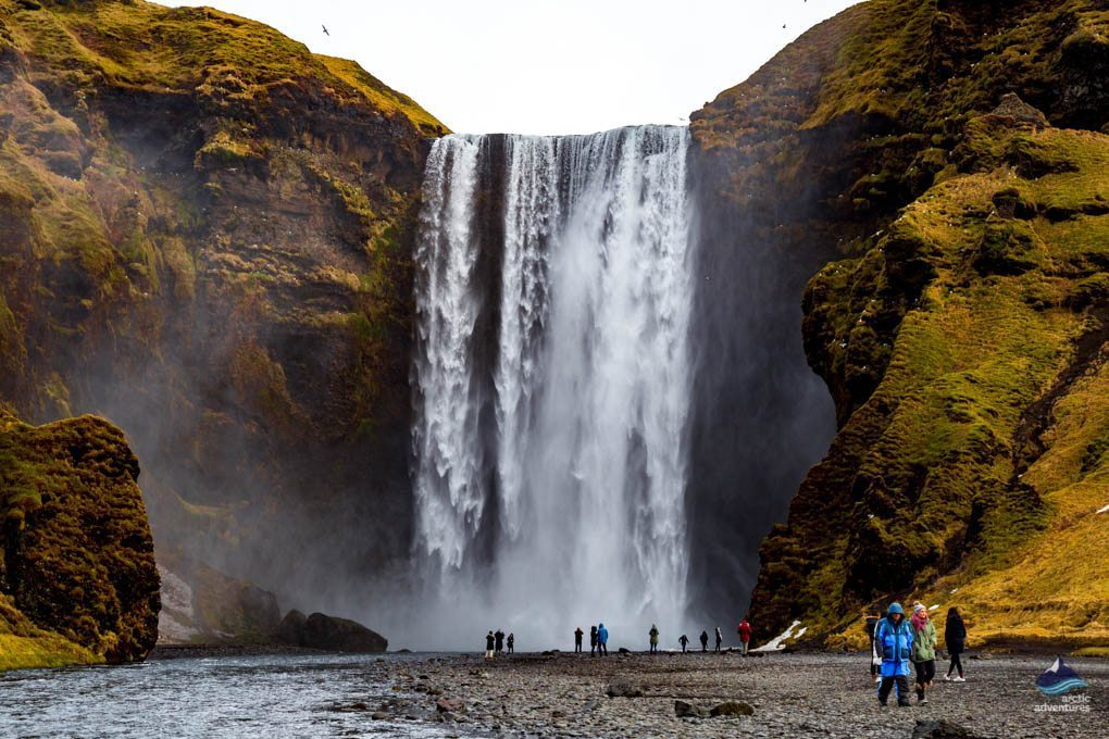 Skogafoss Waterfall in Iceland