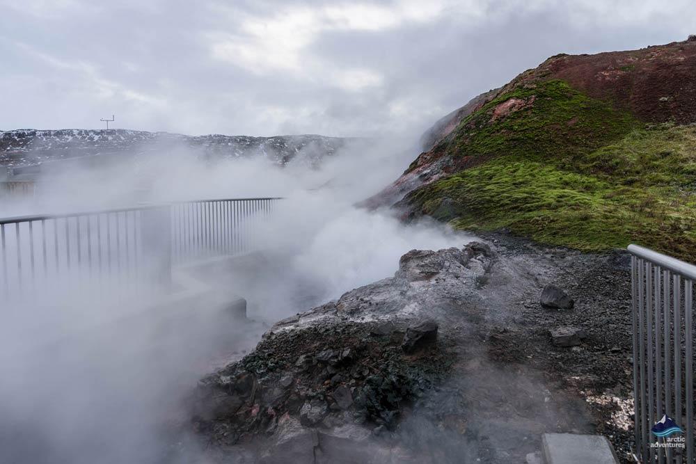 Deildartunguhver hot spring Iceland
