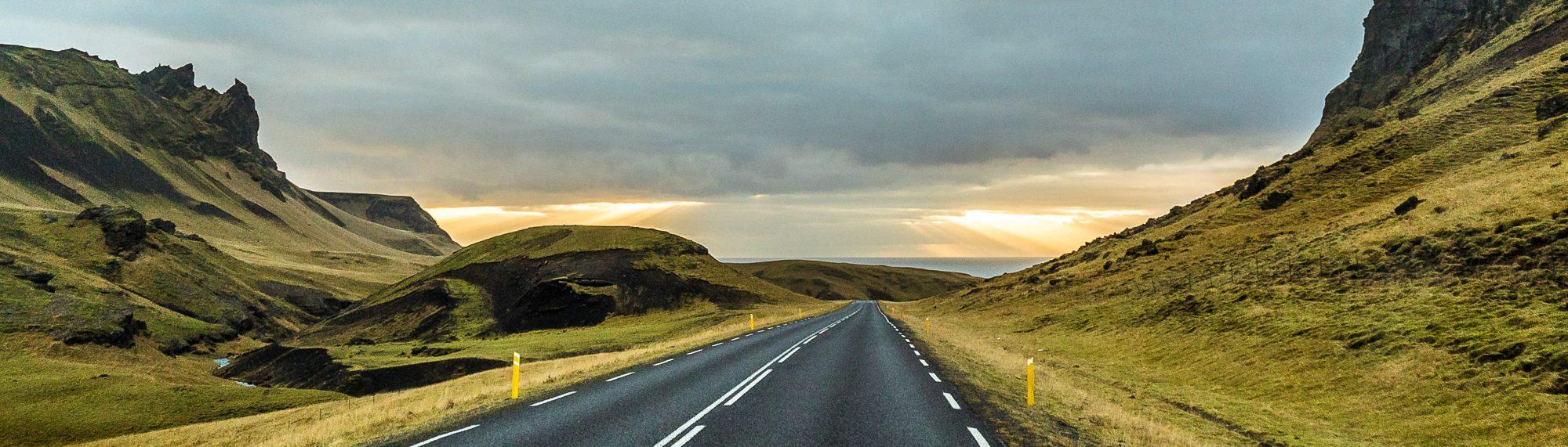 Road South Coast Iceland