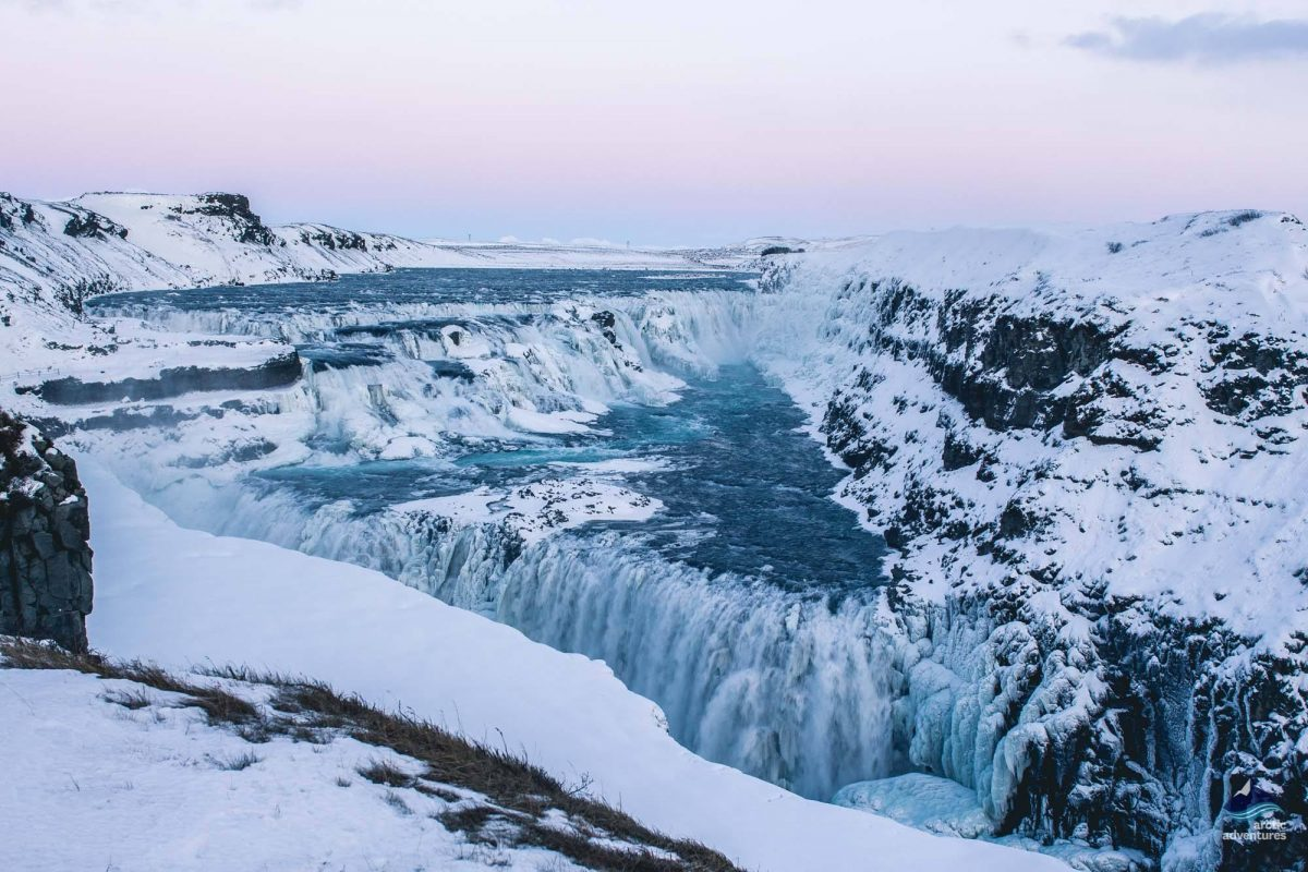 Gullfoss-Waterfall-Winter-GoldenCircle-Iceland