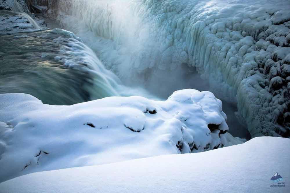 Gullfoss-Waterfall-Winter-GoldenCircle-Iceland