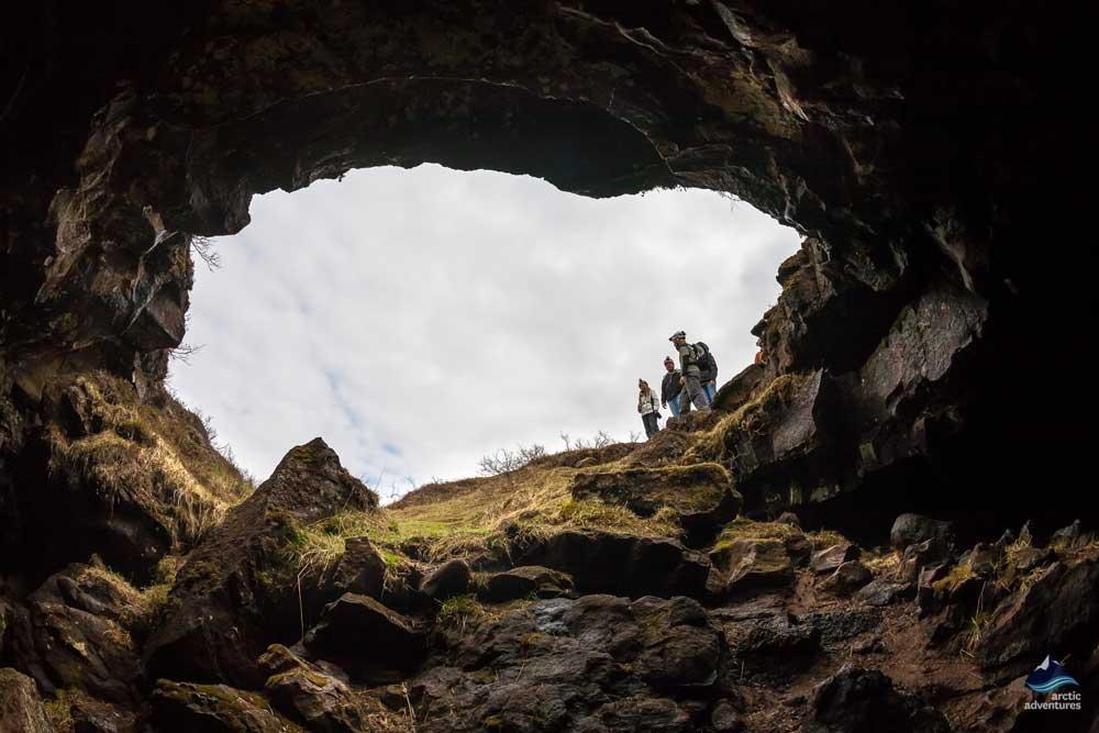 Underworld-Caving-Lava-tube-Iceland