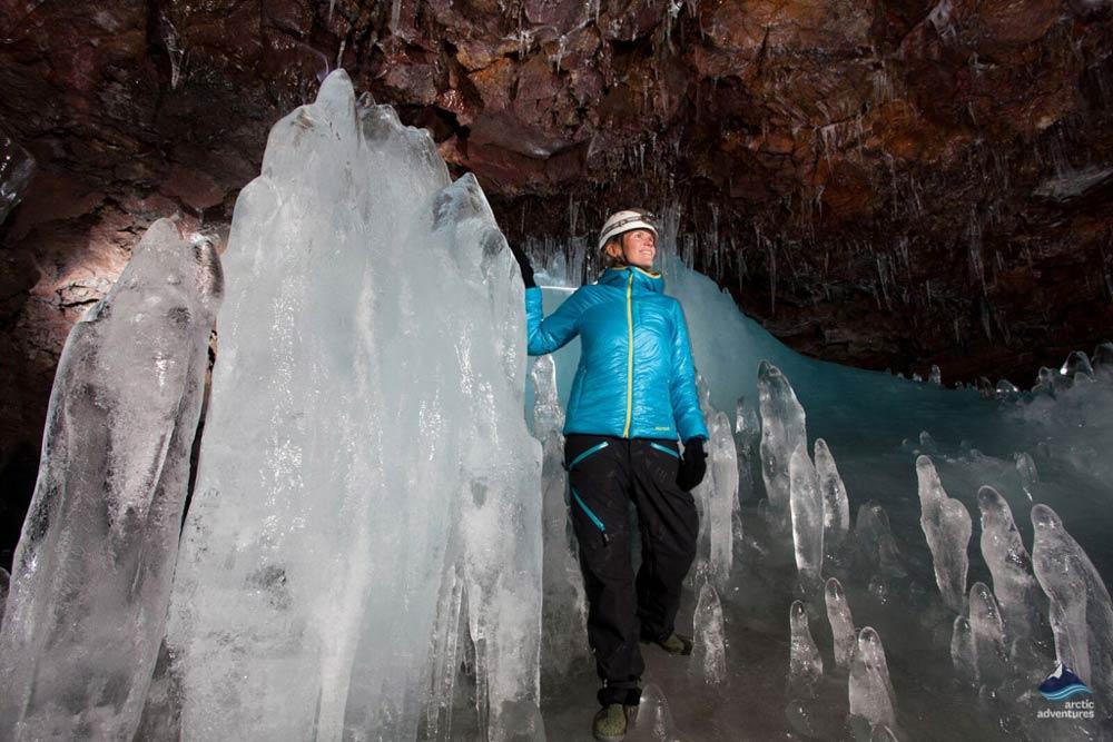 Caving-Lava-tube-Iceland
