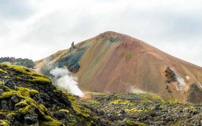 Landmannalaugar Iceland Laugavegur trail trekking