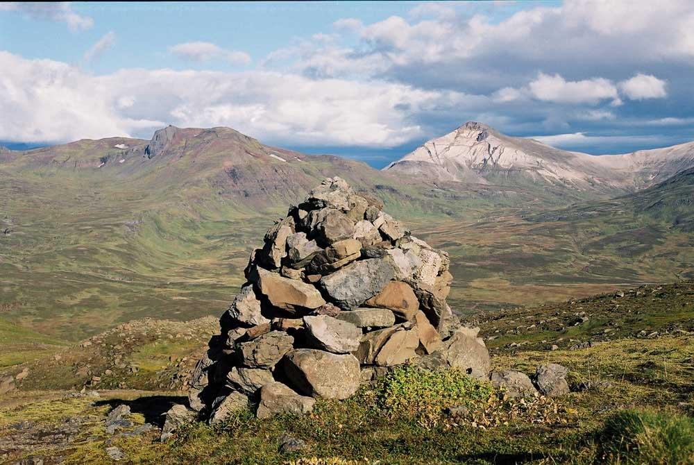 Hiking East Fjords Iceland