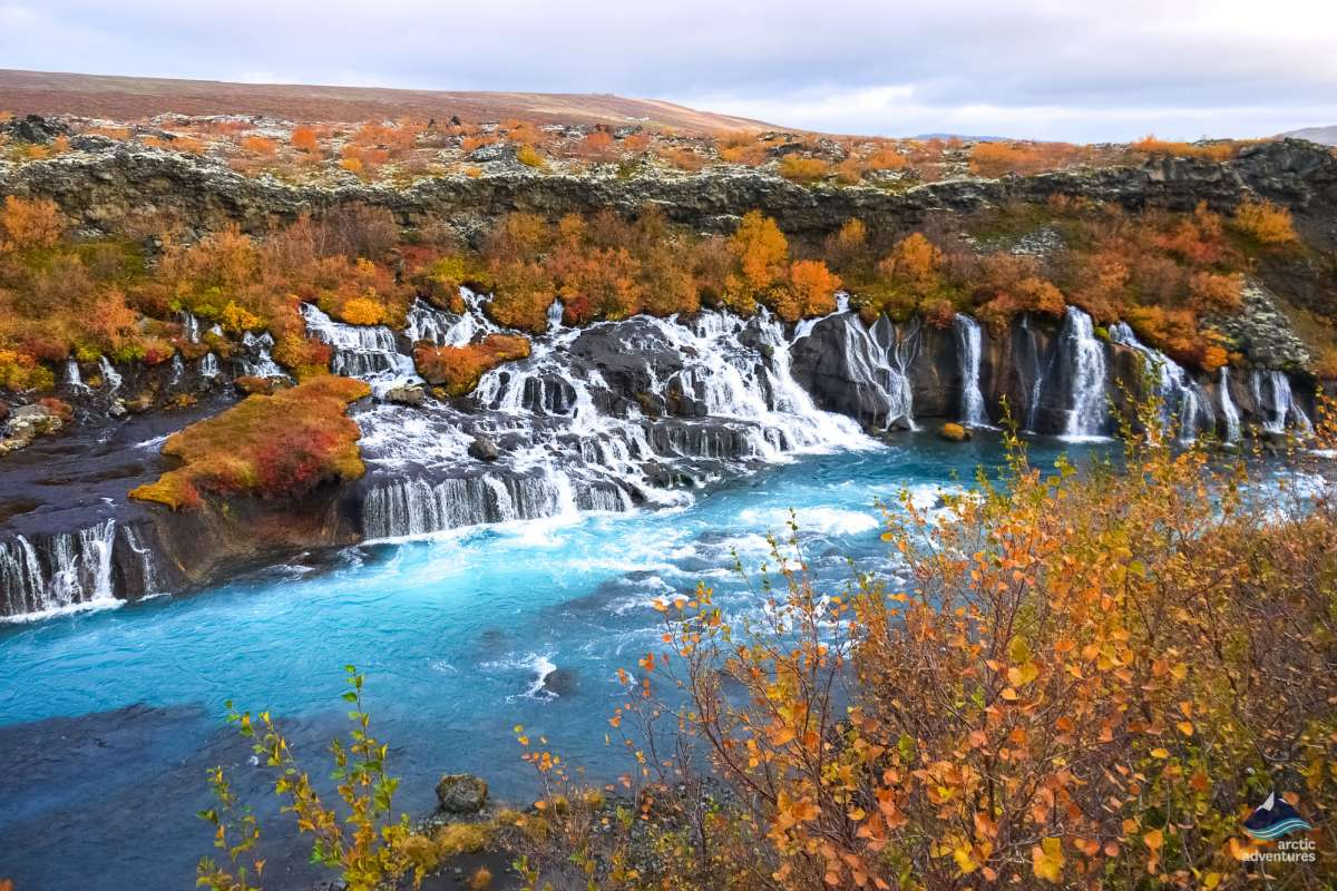 Hraunfossar-Snaefellsnes-Iceland-tour