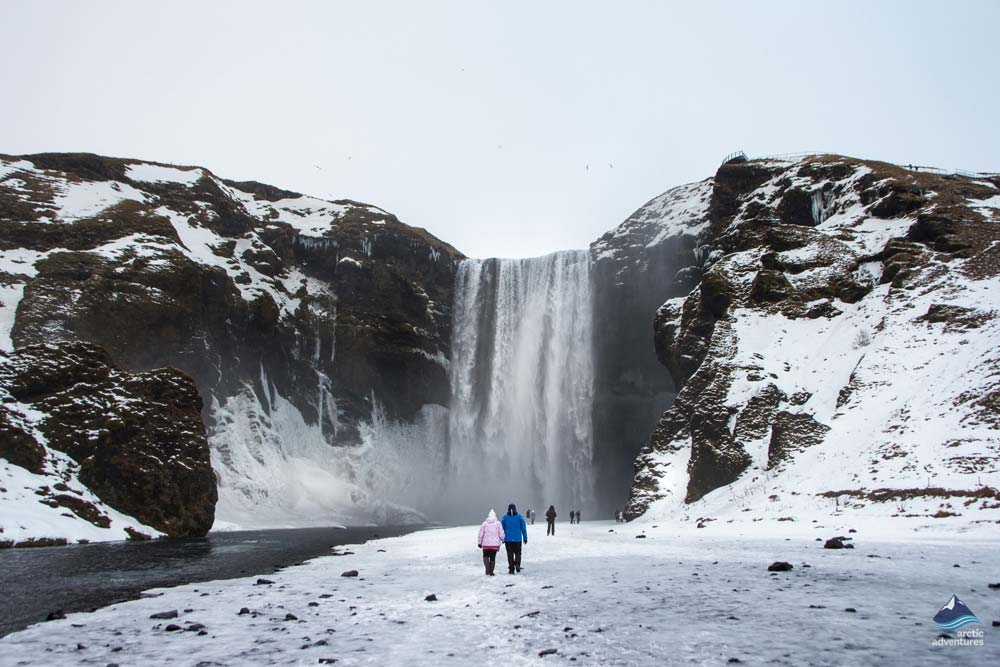 Skogafoss-Waterfall-South-Coast-winter-Iceland