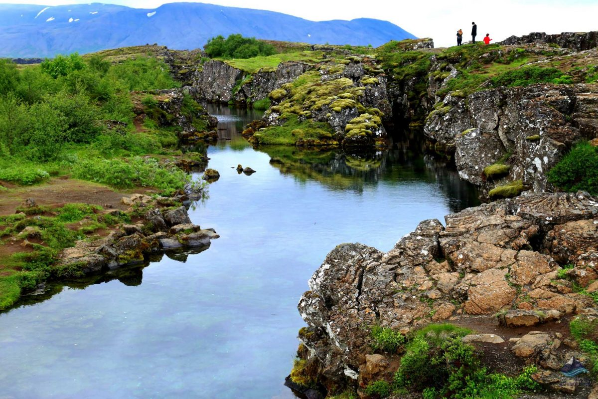 Thingvellir National Park in The Golden Circle route
