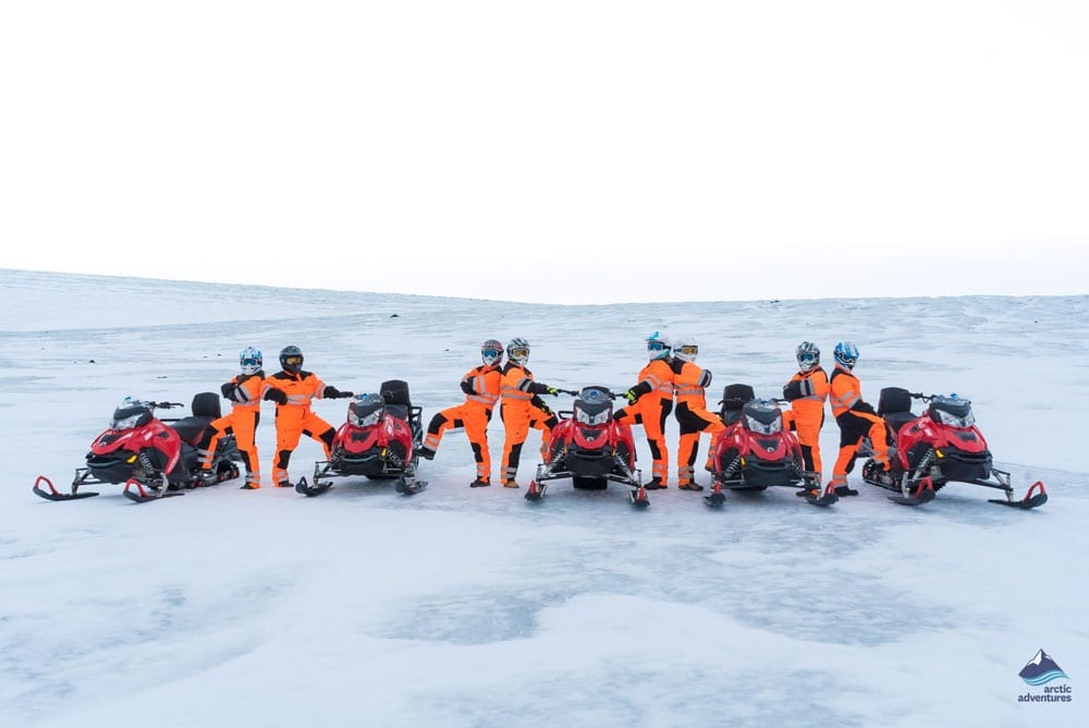 Golden Circle Small Group & Snowmobiling