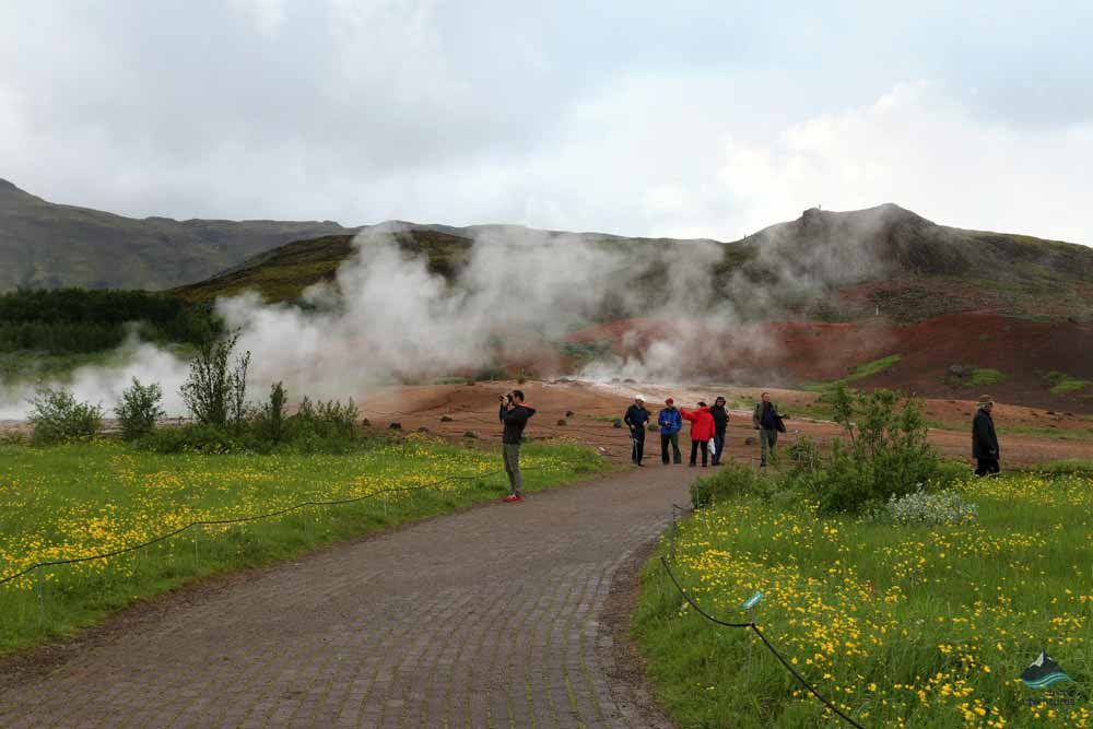 Geysir on the Golden Circle