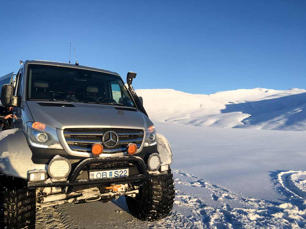 Super Jeep tour Iceland