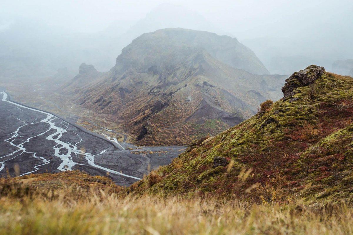 Thorsmork panoramic view