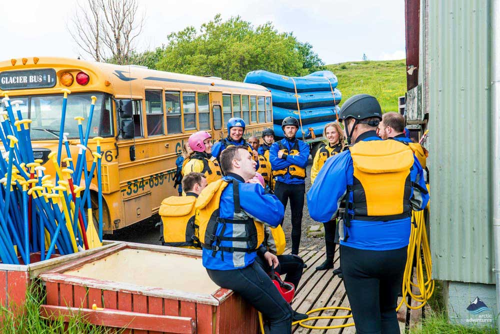 River Rafting Tour Iceland