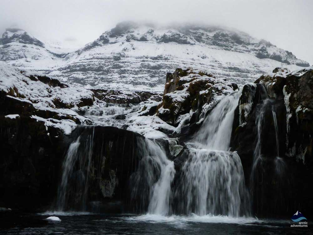 Kirkjufellsfossar waterfall