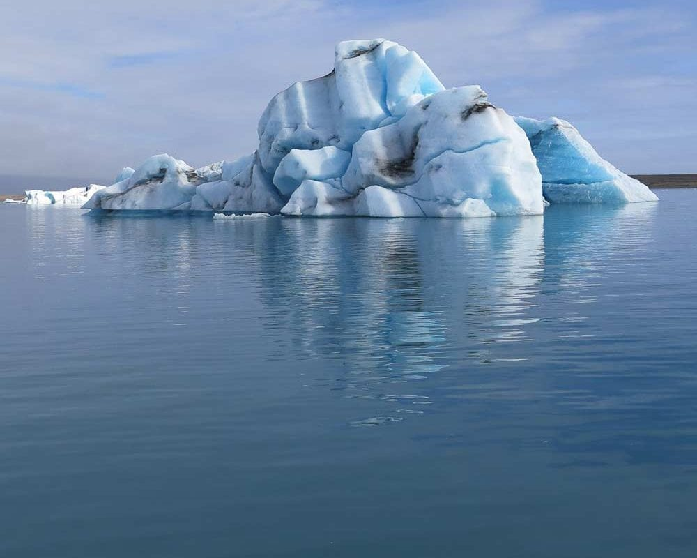 Ice berg in Jokulsarlon Iceland