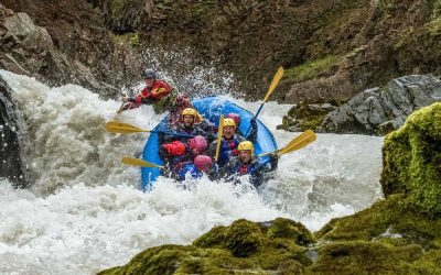 Viking Rafting Iceland Whitewater Action East Glacial River