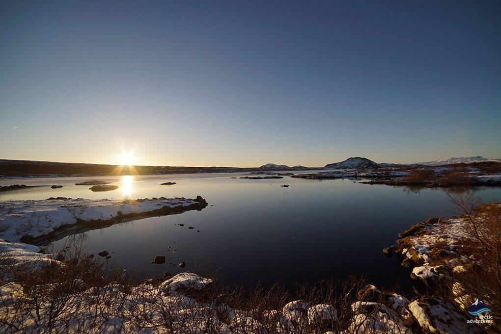 Winter Traveling in Thingvellir