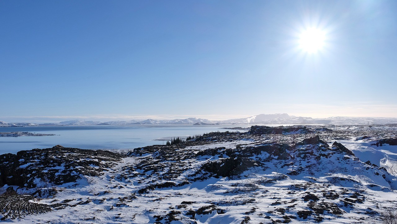 Thingvellir Winter overview