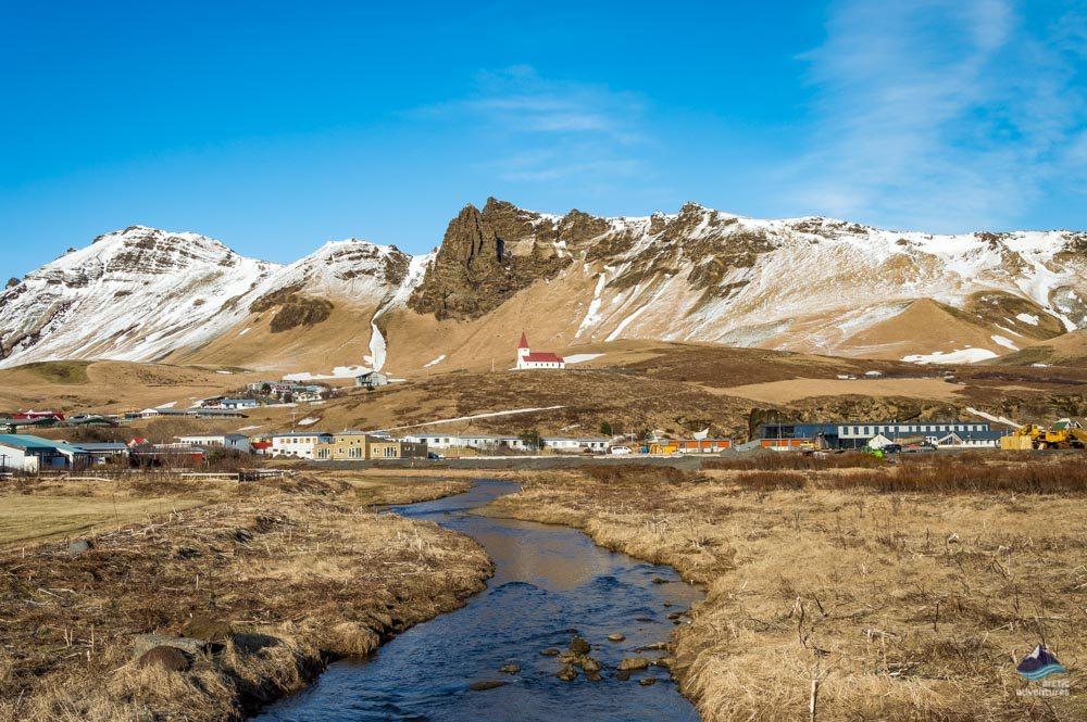 Vik south coast Iceland