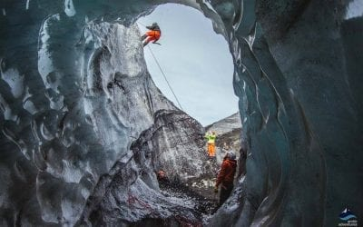 Glacier climbing tour in Iceland