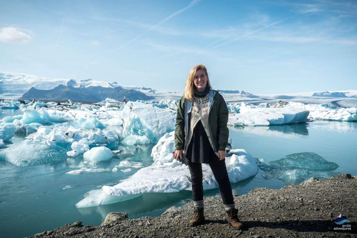 Jokulsarlon glacoer lagoon Iceland