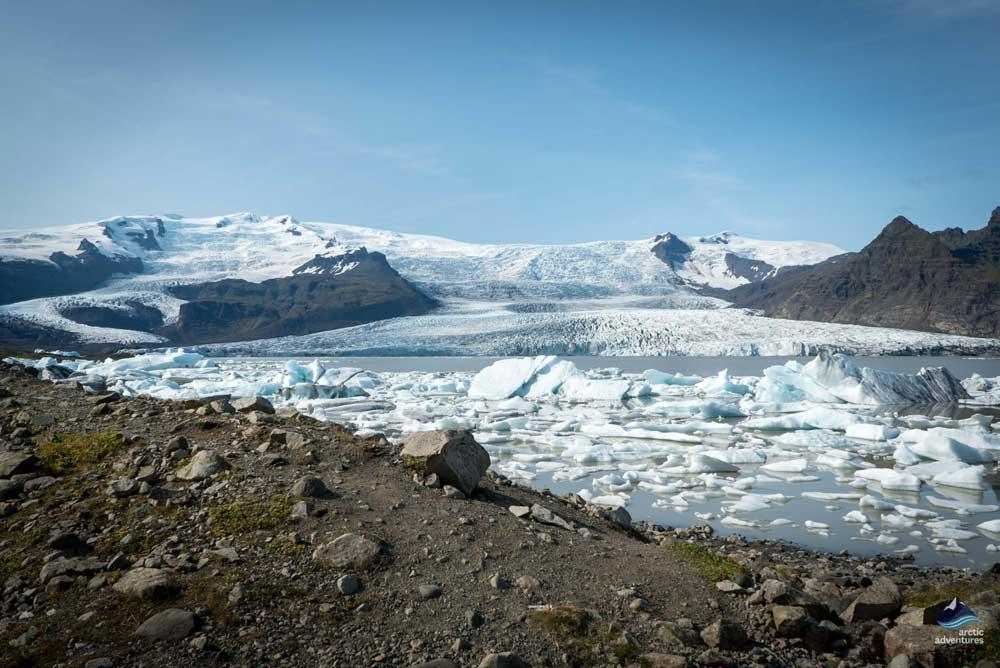 Fjallsarlon glacier lagoon Iceland
