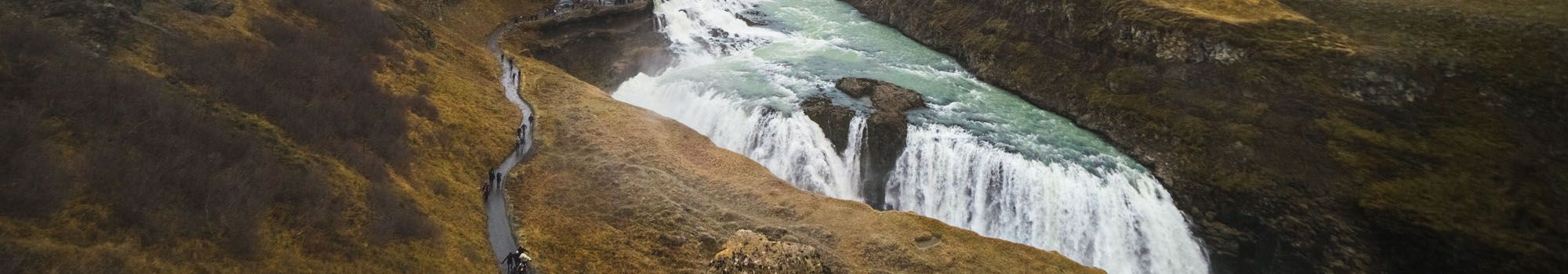Gullfoss waterfall on Golden Circle