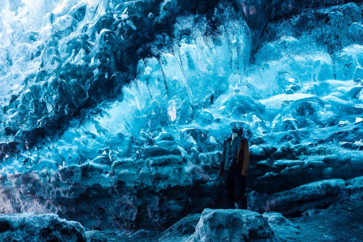 Crystal Ice Cave Glacier Iceland