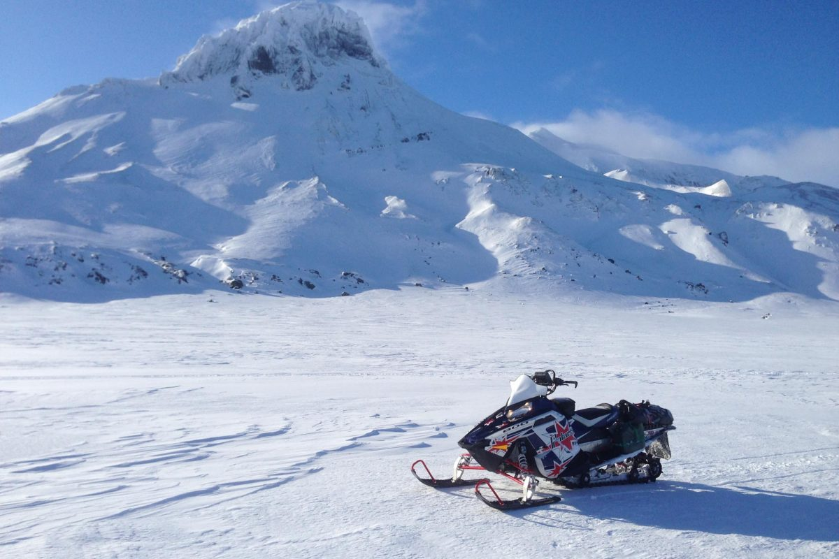Snowmobile at Kerlingarfjoll