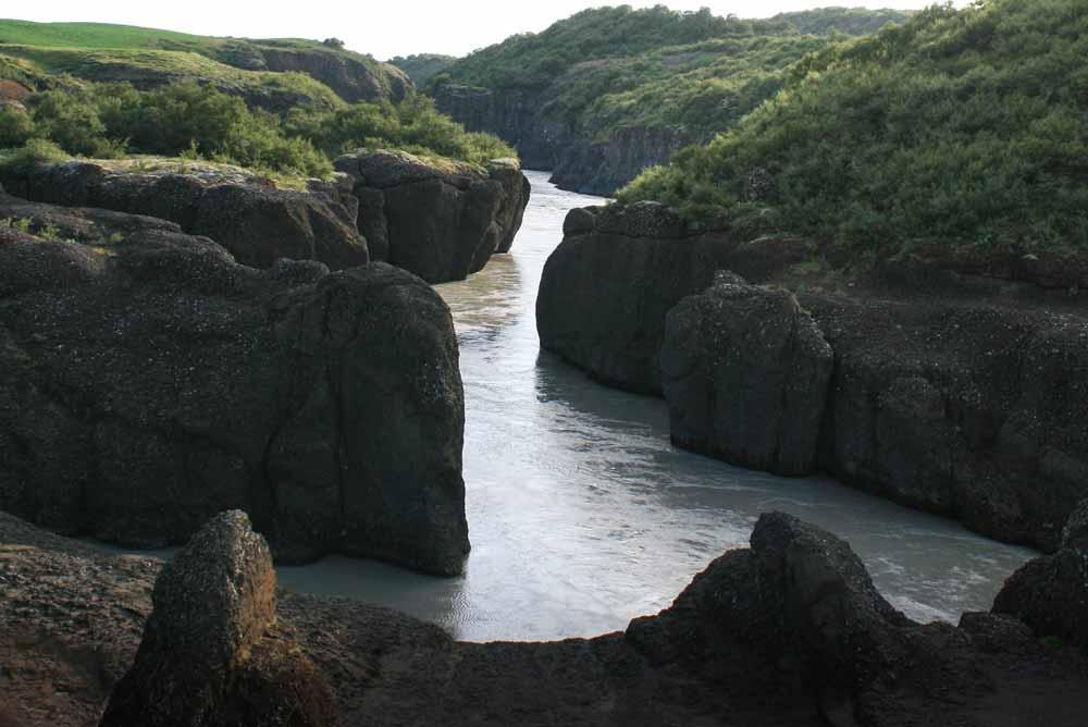 Riverjet hvita Iceland
