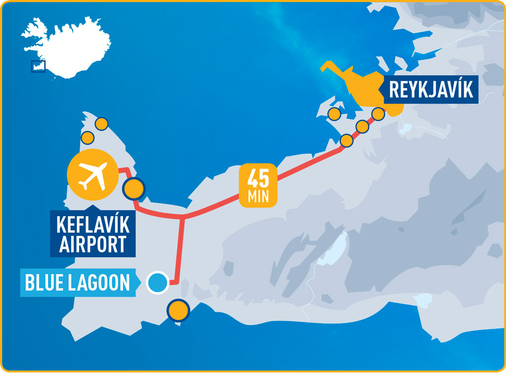 Flybus Airport Transfer - Map