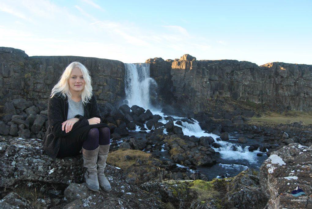 Oxarfoss at Thingvellir