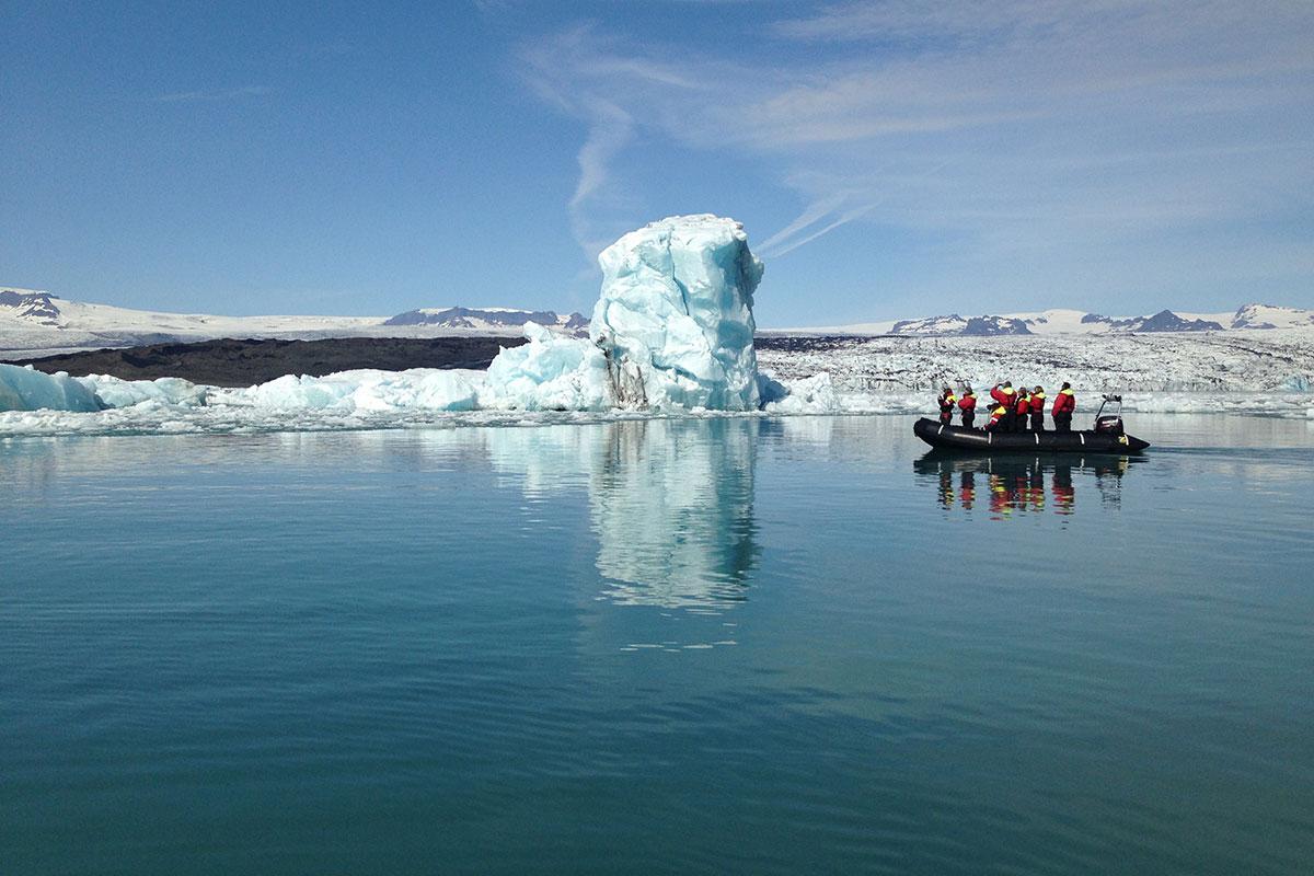 Glacier Lagoon Boat Tour Iceland