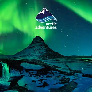 Lava caving and Northern Lights tour in a minibus in Iceland