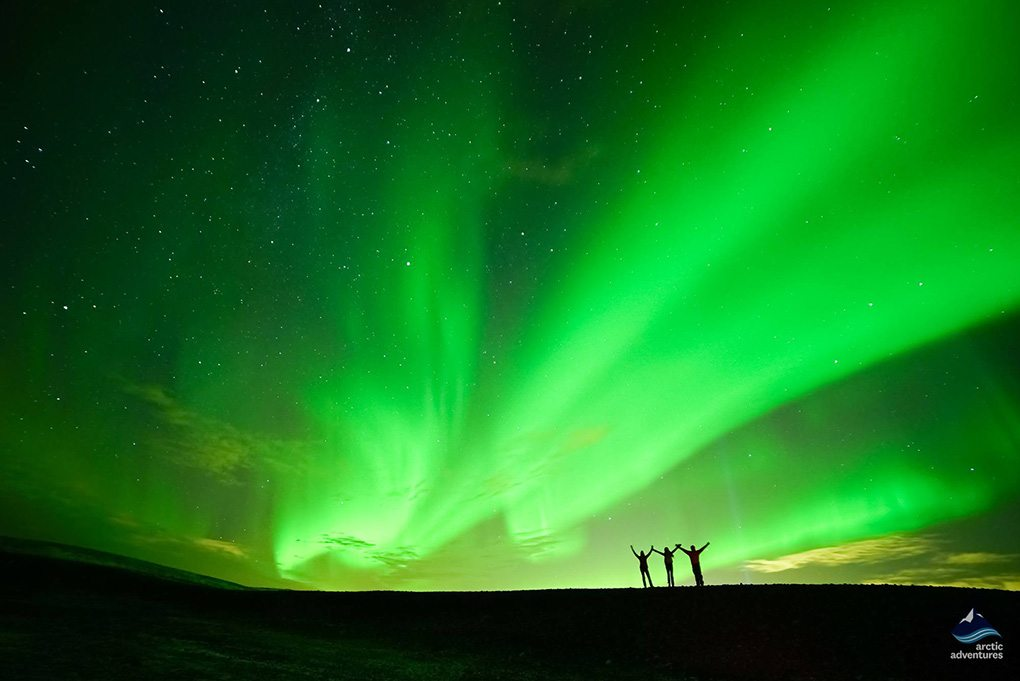 Northern Lights Minibus Tour in Iceland