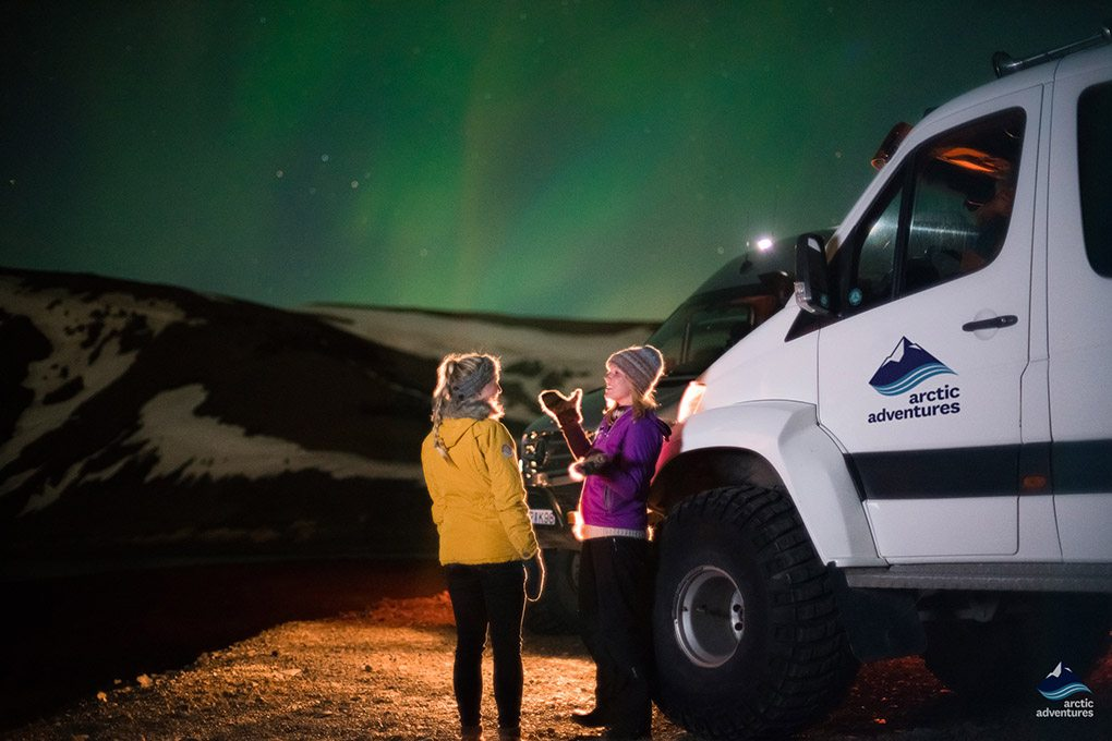 Super Jeep Northern Lights Tour in Iceland