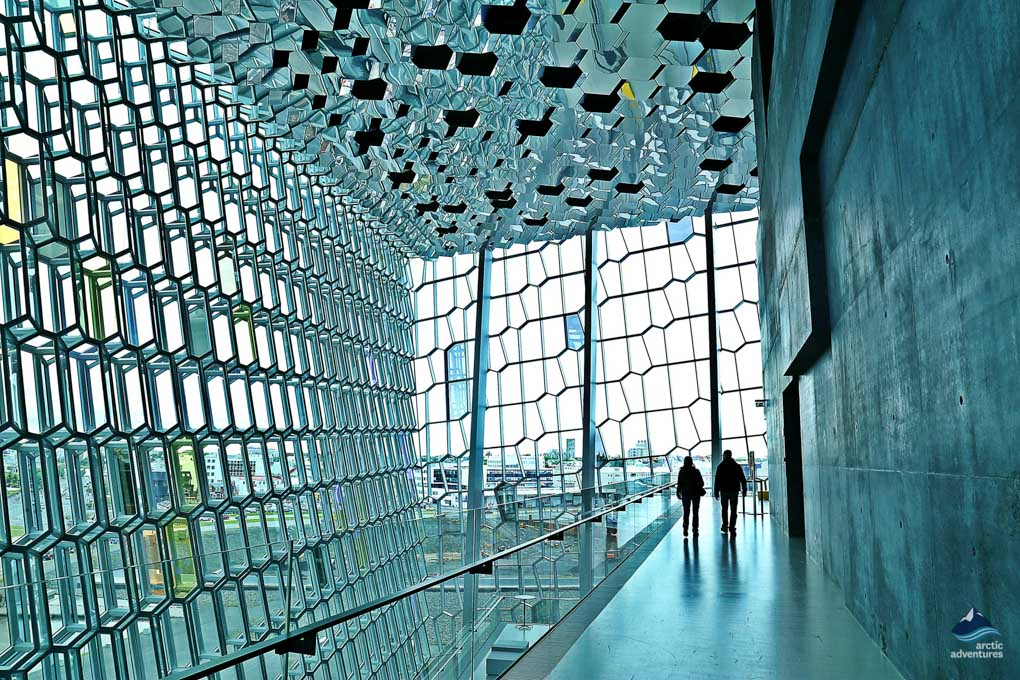 Inside Harpa Musical Hall