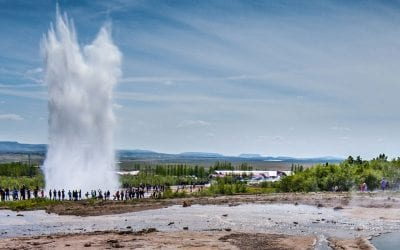 The great Geysir, Golden Circle Iceland