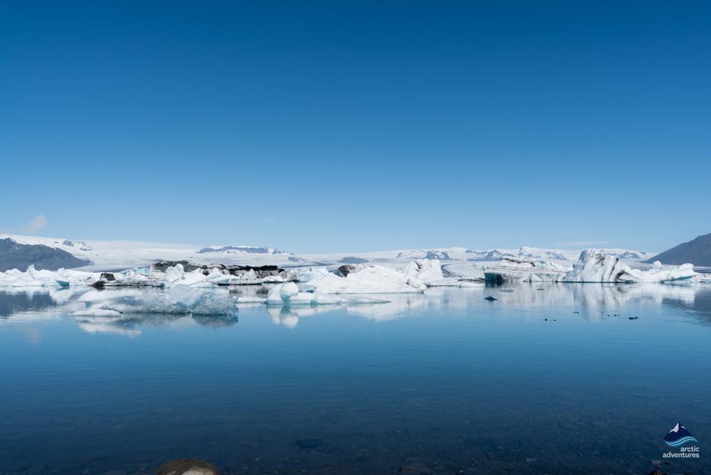 Glacier lagoon Summer in Iceland