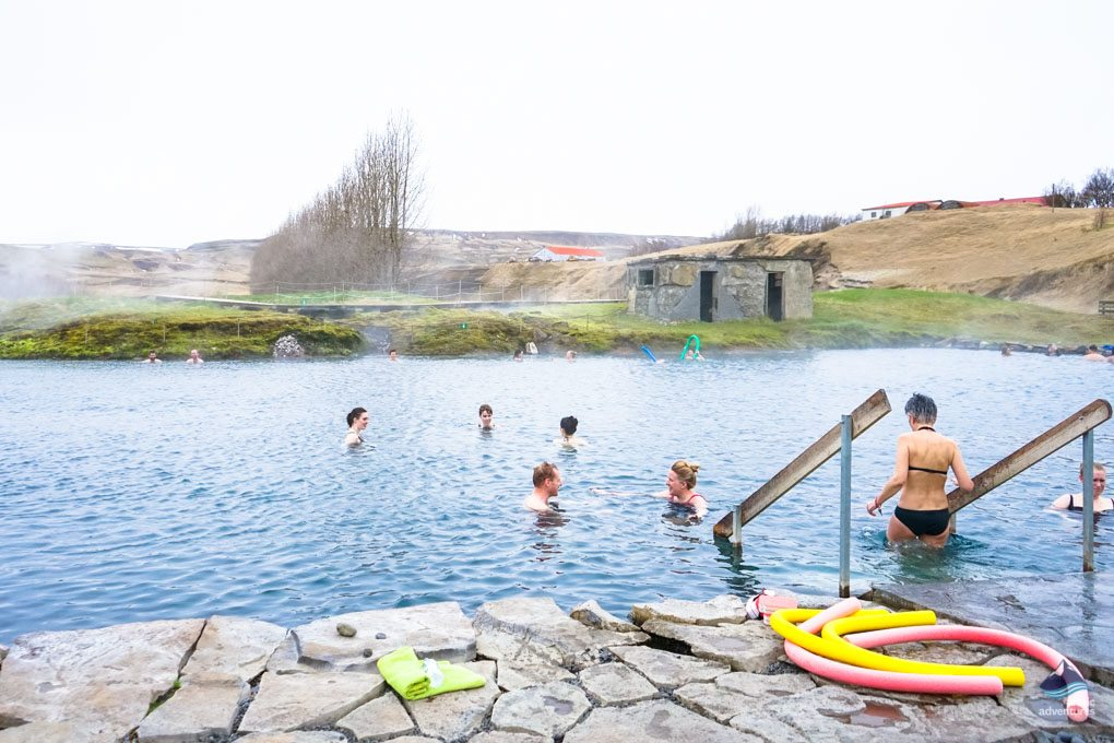 Best Icelandic hot spring, the secret lagoon