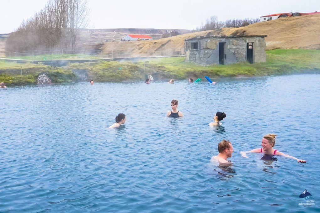 Icelandic adventures in hot springs