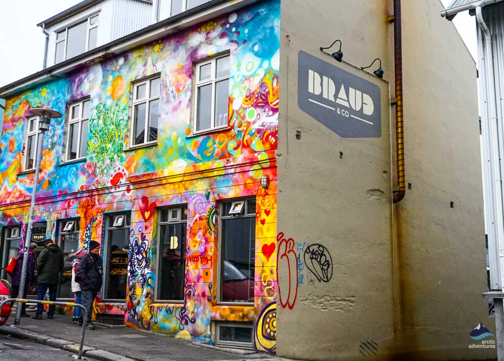 Braud og co bakery in Reykjavik