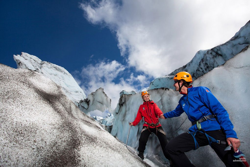 Falljokull Glacier Grand tour