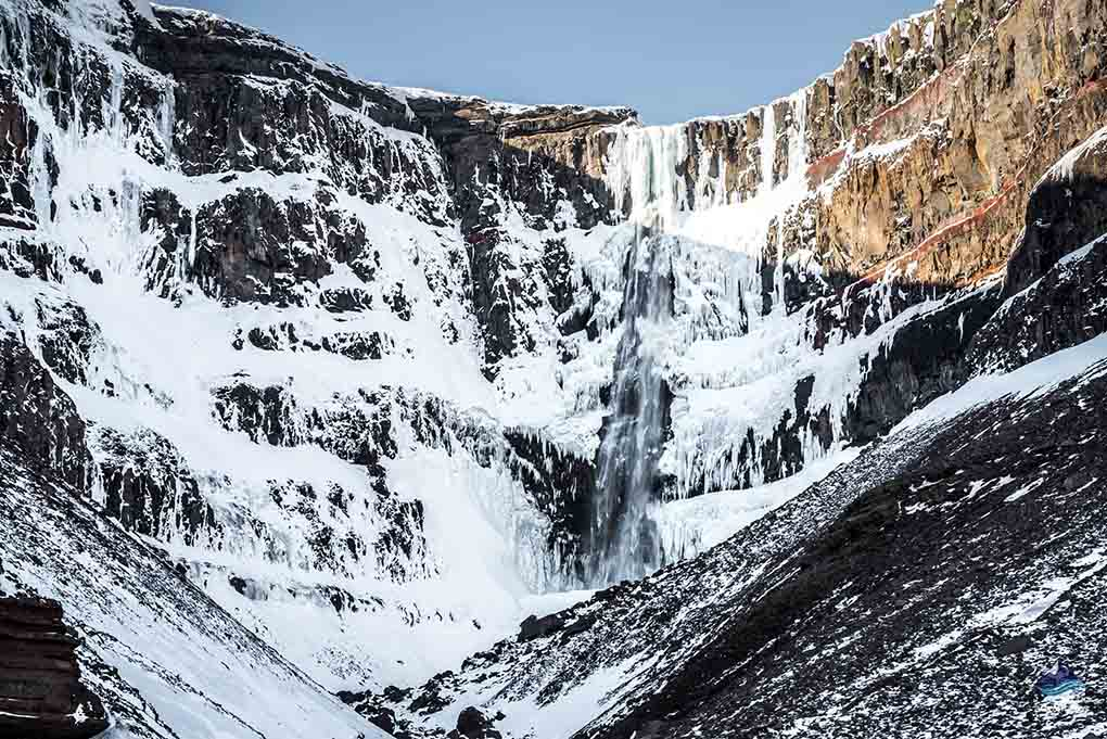 Hengifoss Winter