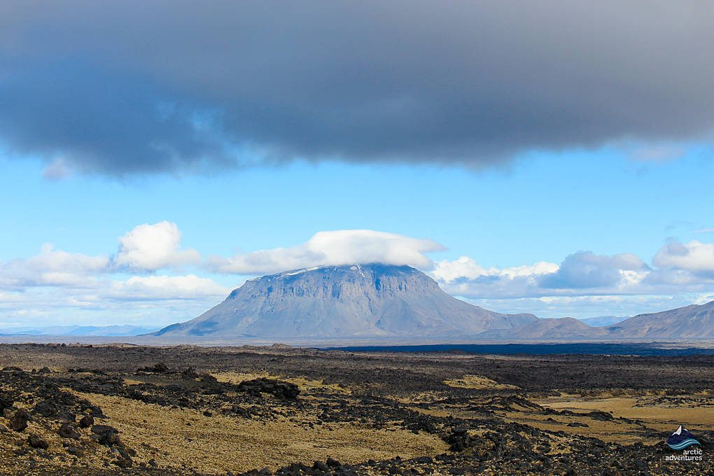 Herdubreid Mountain in Iceland