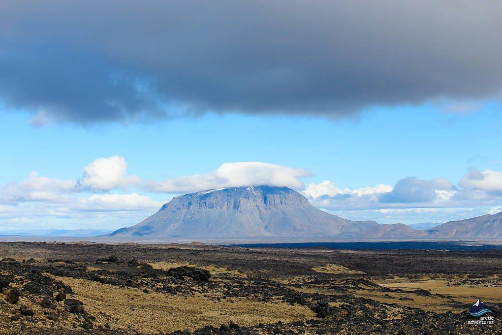 Herdubreid Mountain in Iceland